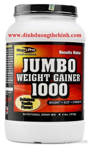 Jumbo Weight Gainer 1000 Mega Pro,sữa tăng cân