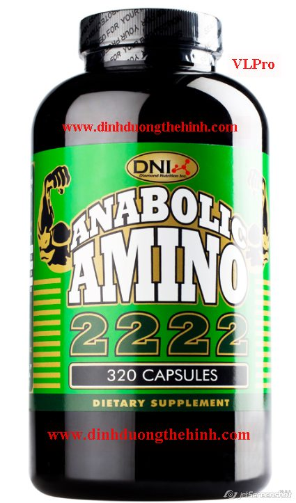 Amino 2222 Anabolic, amino 2222 Capsules, amino 2222 vien nhong