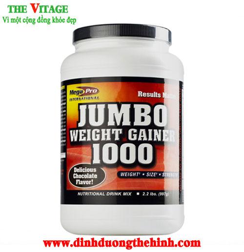 Jumbo Weight Gainer 1000