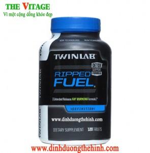 Twinlab ripped fuel 120 viên, thực phẩm chức năng giảm cân, Giảm cân đốt mỡ.