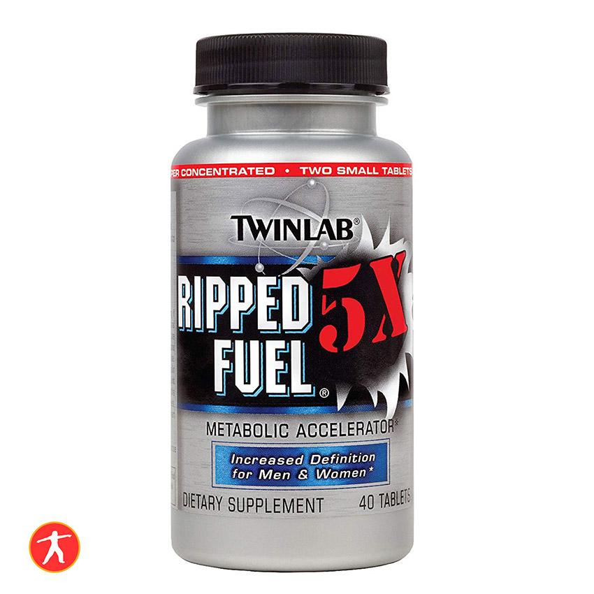 Giảm cân đốt mỡ, Ripped fuel twinlab 5x 40 vien tabs