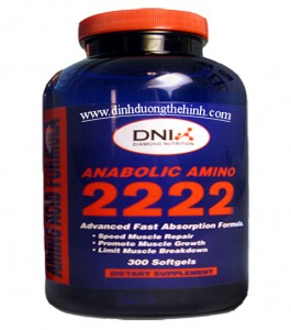 Anabolic amino 2222 softgels DNI, Amino 2222 softgels
