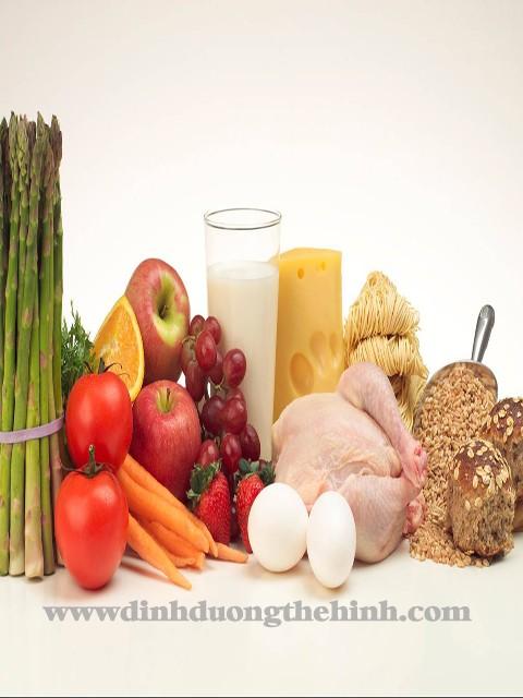 chế độ ăn tăng cơ bắp