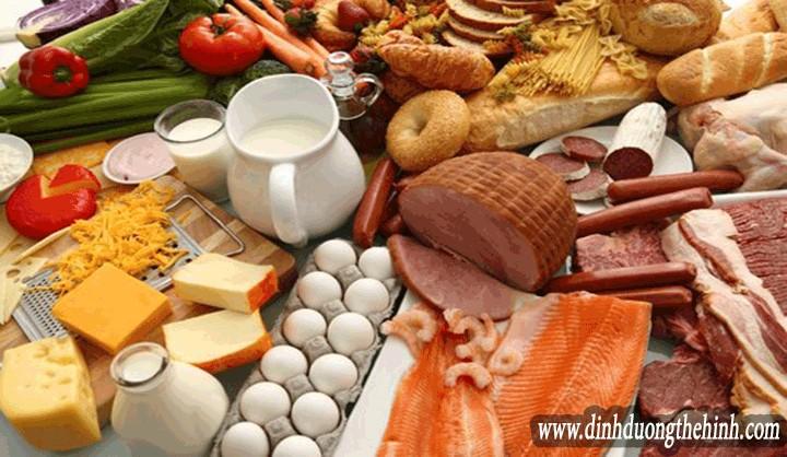Thực phẩm chứa nhiều protein cho người tập thể hình