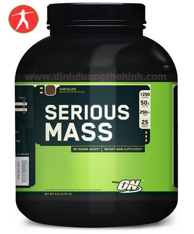 Optimum Serious Mass 6Lbs Sữa tăng cân cho người tập thể hình.