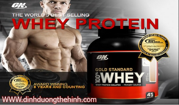 whey potein gold standard