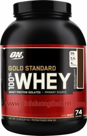 Tăng cơ bắp Whey 100 Gold Standard 2Lbs(907g)