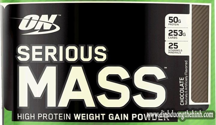 Sữa Serious Mass là gì ?