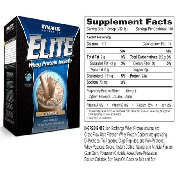 Elite Whey Protein 10lbs