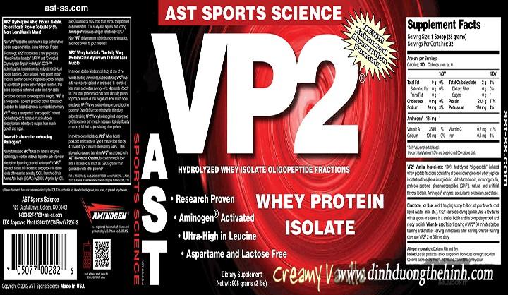 Tìm hiểu về bột whey VP2