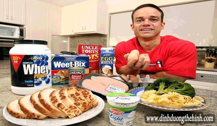 Dinh dưỡng thể hình cho người tập thể hình