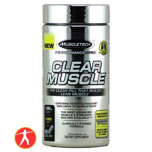 Clear muscle 168 Viên