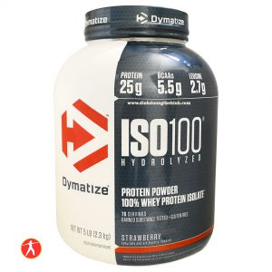 Dymatize Iso 100 Hydrolyzed Whey Protein Isolate