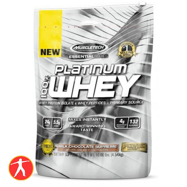 Muscletech Platimum Whey 100% 10lbs