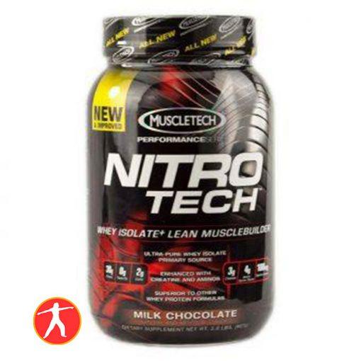 Nitro Tech Whey Protein Isolate 2lbs