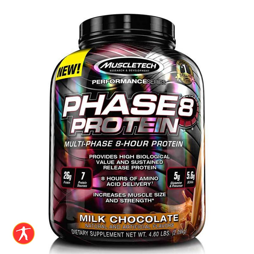 MuscleTech Whey Phase8 5lbs