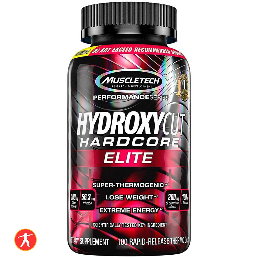 Muscletech Hydroxycut Elite Hardcore 100 Viên
