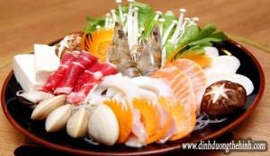 Top nguồn hải sản tăng cơ bắp