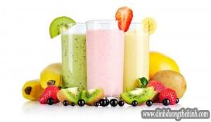 Top sinh tố trái cây giúp tăng cân vù vù