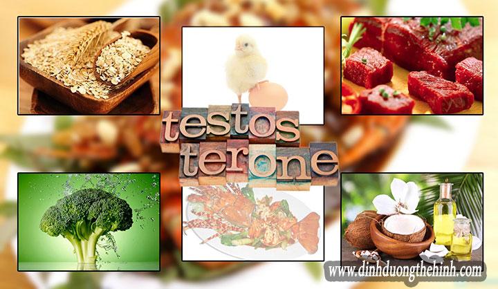 Top 10 thực phẩm giúp tăng testosterone tự nhiên.