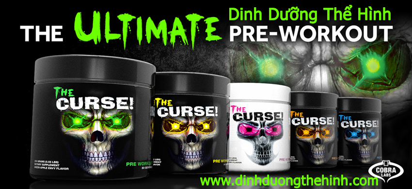 the curse pre workout 50 servings
