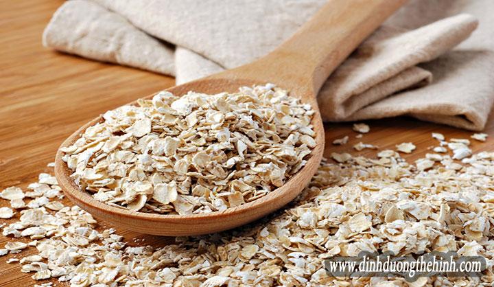Giá trị dinh dưỡng của bột yến mạch.
