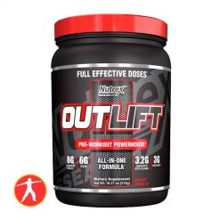 Outlift Pre Workout 20 lần dùng