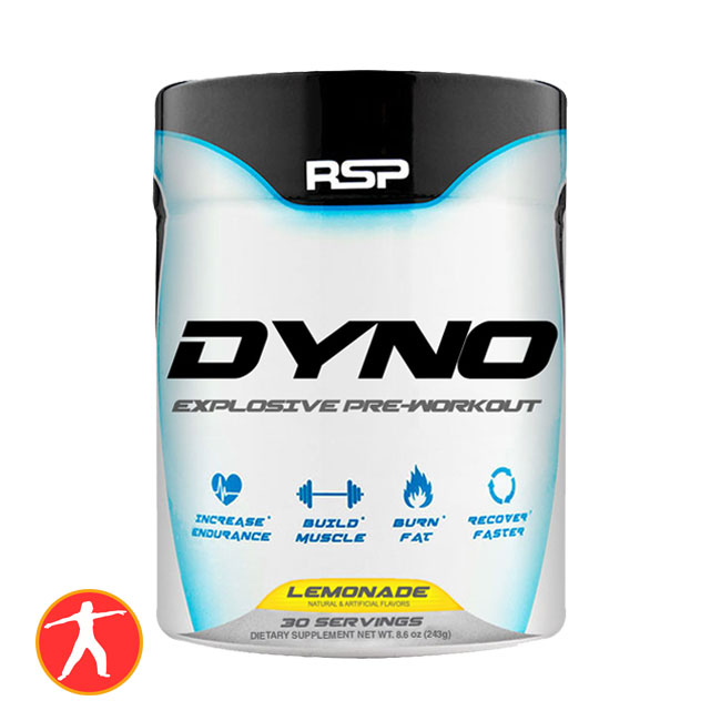 RSP Dyno Pre Workout 30 lần dùng