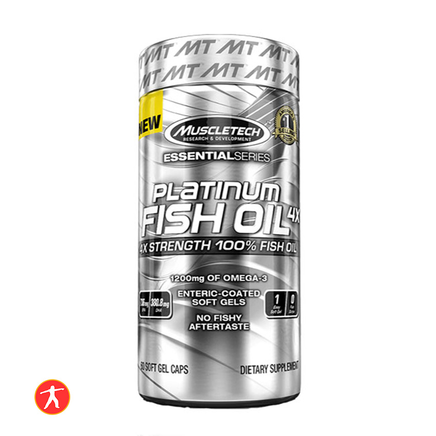 Muscletech Platinum Fish Oil 100 Viên