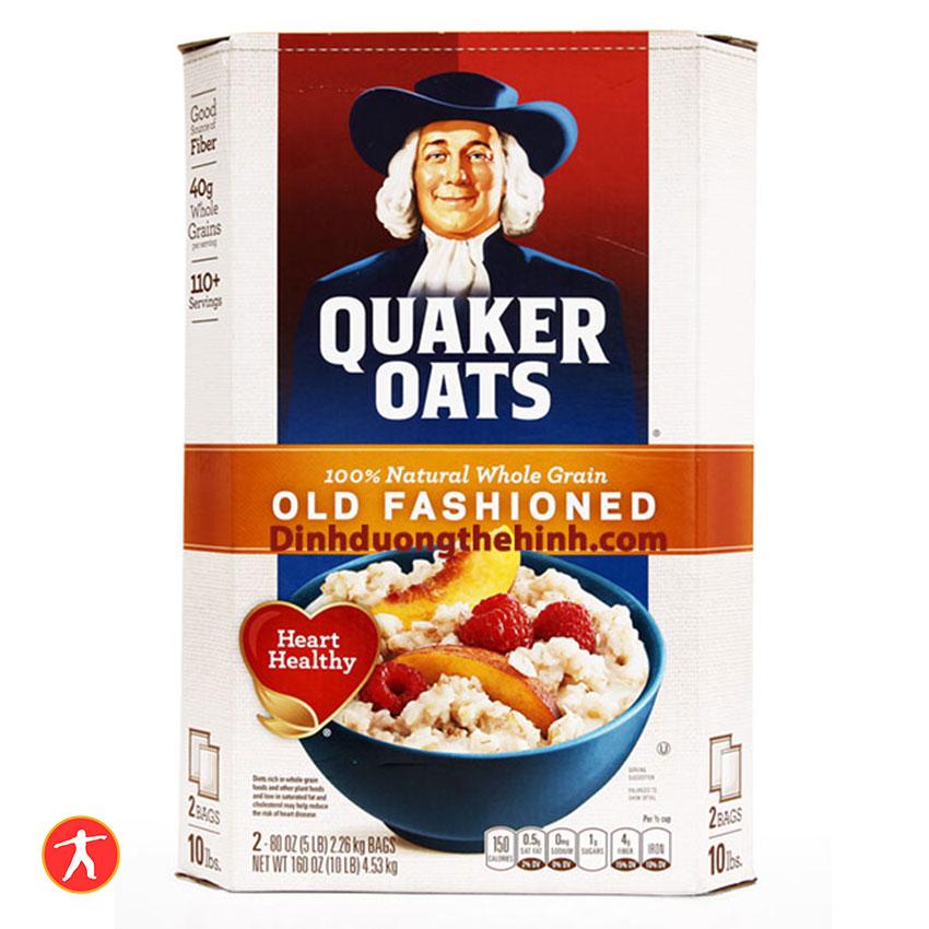 Yến mạch Quaker Oats 10Lbs