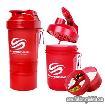 smart shaker 500ml mau do