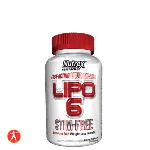 Nutrex Research Lipo-6 Stim-Free, 120 liqui-caps