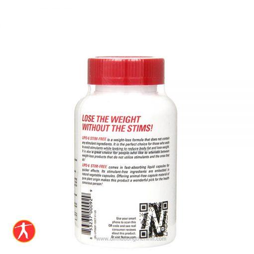 Nutrex Research Lipo-6 Stim-Free, 120 liqui-caps info