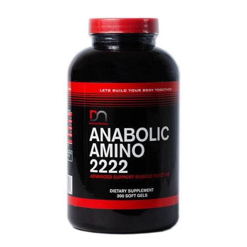 Anabolic amino 2222 softgels DNI Hộp Mới 2017