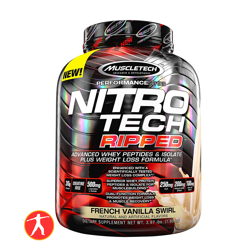 Nitro Tech Ripped 4lbs