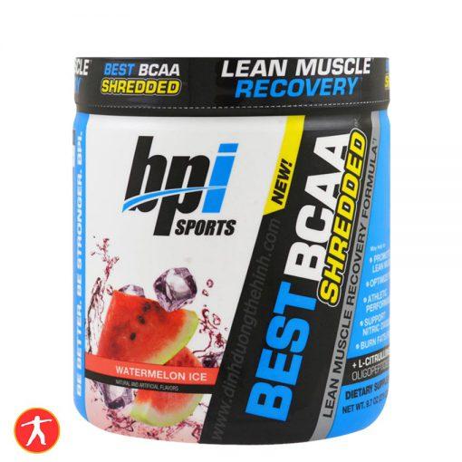 BPI Sports, Best BCAA Shredded, Watermelon Ice
