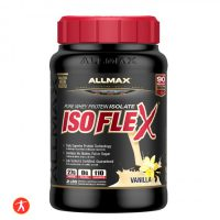 ALLMAX ISOFLEX Whey Protein Isolate, 90% Pure Protein
